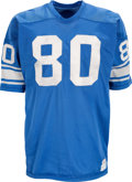 Football Collectibles:Uniforms, Late 1960's Jim Gibbons Detroit Lions Game Worn Jersey....
