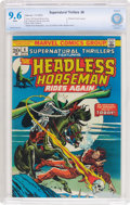 Bronze Age (1970-1979):Horror, Supernatural Thrillers #6 (Marvel, 1973) CBCS NM+ 9.6 Whitepages....
