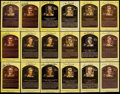 Autographs:Post Cards, Baseball Greats Hall of Fame Plaque Postcards Lot of 79. ...