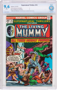 Supernatural Thrillers #14 (Marvel, 1975) CBCS NM+ 9.6 White pages