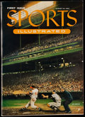 Baseball Collectibles:Publications, 1954 Sports Illustrated First Issue....