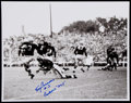 Football Collectibles:Photos, Tony Canadeo Signed Oversized Photograph....