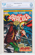 Bronze Age (1970-1979):Horror, Tomb of Dracula #10 (Marvel, 1973) CBCS VF- 7.5 White pages....