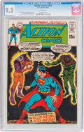 Silver Age (1956-1969):Superhero, Action Comics #383 (DC, 1969) CGC NM- 9.2 White pages....