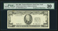 Error Notes:Third Printing on Reverse, Third Printing on Back Error Fr. 2079-B $20 1993 Federal Reserve Note. PMG Very Fine 30.. ...