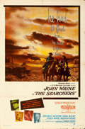 """Movie Posters:Western, The Searchers (Warner Brothers, 1956). One Sheet (27"""" X 41"""").. ..."""