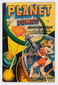 Golden Age (1938-1955):Science Fiction, Planet Comics #43 (Fiction House, 1946) Condition: FN-....