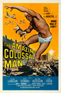 "Movie Posters:Science Fiction, The Amazing Colossal Man (American International, 1957). One Sheet(27"" X 41"") Albert Kallis Artwork.. ..."