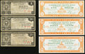 Obsoletes By State:Mixed States, MX - Lot of 36 Southern States 1933 Depression Scrip Notes.. ... (Total: 36 notes)