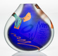 Art Glass:Other , Joel Philip Myers (American, b. 1934). Contiguous Vase,1982. Glass with applied elements. 10-3/8 inches high (26.4 cm)...