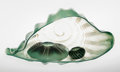 Art Glass, Dale Chihuly (American, b. 1941). Three-Piece Celadon SeaformSet, 1981. Hand-blown glass. 8 x 15-1/2 x 7 inches (20.3 x...(Total: 3 Items)