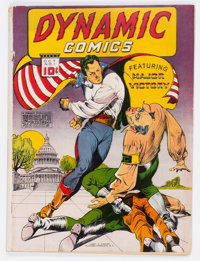 Dynamic Comics #1 (Chesler, 1941) Condition: GD/VG