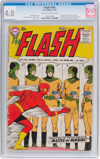 The Flash #105 (DC, 1959) CGC VG 4.0 Cream to off-white pages