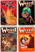 Pulps:Horror, Weird Tales Group of 9 (Popular Fiction, 1934-36).... (Total: 9Comic Books)