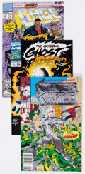 Modern Age (1980-Present):Miscellaneous, Marvel Modern Age Long Box Group (Marvel, 1990s) Condition: Average Average VF....
