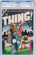Golden Age (1938-1955):Horror, The Thing! #16 Double Cover (Charlton, 1954) CGC NM 9.4 Off-whitepages....