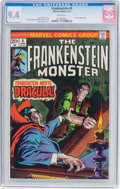 Bronze Age (1970-1979):Horror, Frankenstein #8 (Marvel, 1974) CGC NM 9.4 White pages....