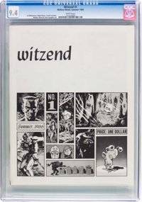 Witzend #1 (Wally Wood, 1966) CGC NM 9.4 White pages