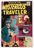 Silver Age (1956-1969):Horror, Tales of the Mysterious Traveler #6 (Charlton, 1957) Condition:VG+....
