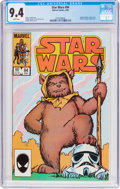 Modern Age (1980-Present):Science Fiction, Star Wars #94 (Marvel, 1985) CGC NM 9.4 White pages....