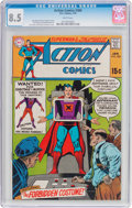 Bronze Age (1970-1979):Superhero, Action Comics #384 (DC, 1970) CGC VF+ 8.5 White pages....