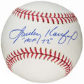 "Autographs:Baseballs, Sandy Koufax Single Signed Baseball - Includes ""HOF 72""Inscription. ..."