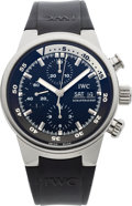 Timepieces:Wristwatch, IWC Ref. 3719 Steel Aquatimer Chrono-Automatic. ...