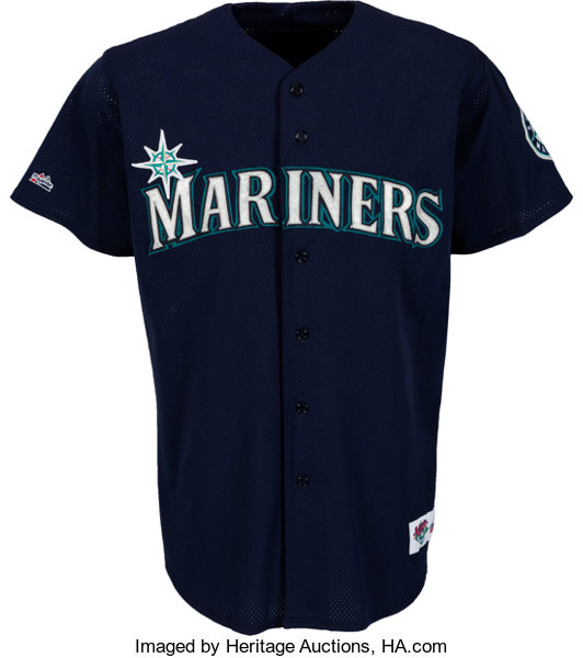 1e89d9c6b1 ... Baseball Collectibles:Uniforms, 1997 Ken Griffey, Jr. Game Worn Seattle  Mariners Jersey ...