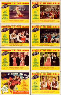 """Singin' in the Rain (MGM, 1952). Lobby Card Set of 8 (11"""" X 14""""). ... (Total: 8 Items)"""