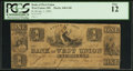 Obsoletes By State:Ohio, West Union, OH- The Bank of West Union $1 Jan. 1, 1839 . ...