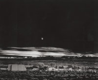 Ansel Adams (American, 1902-1984) Moonrise, Hernandez, New Mexico, 1941 Collotype on BFK Rives, 1975
