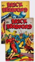 Golden Age (1938-1955):Science Fiction, Brick Bradford #5 and 6 Group (Better Publications, 1948)Condition: Average FN-.... (Total: 2 Comic Books)