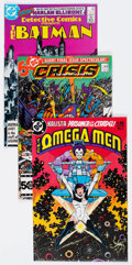 Modern Age (1980-Present):Superhero, DC Modern Age Comics Box Lot (DC, 1980s-90s) Condition: AverageNM-....