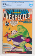 Silver Age (1956-1969):Horror, Tales of the Unexpected #40 (DC, 1959) CBCS FN- 5.5 Off-white towhite pages....