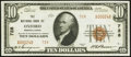 National Bank Notes:Pennsylvania, Oxford, PA - $10 1929 Ty. 2 The NB of Oxford Ch. # 728. ...
