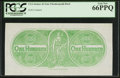 Confederate Notes:Group Lots, $100 Straker & Sons Chemicograph Back Intended for ConfederatePaper Money ND (1864).. ...
