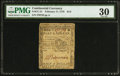 Colonial Notes:Continental Congress Issues, Continental Currency February 17, 1776 $1/2 PCGS Very Fine 30.. ...