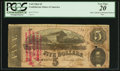 Confederate Notes:1864 Issues, T69 $5 1864 Ad Note.. ...