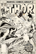 Original Comic Art:Covers, Walt Simonson and Joe Sinnott Thor #269 Cover Original Art (Marvel, 1978)....