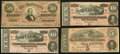 Confederate Notes:1864 Issues, Confederate 1864.. ... (Total: 4 notes)