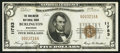 National Bank Notes:Wisconsin, Burlington, WI - $5 1929 Ty. 1 The Burlington NB Ch. # 11783. ...