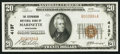 National Bank Notes:Wisconsin, Marinette, WI - $20 1929 Ty. 1 The Stephenson NB Ch. # 4137. ...