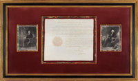 George Washington and Thomas Jefferson Appointment Signed