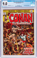 Bronze Age (1970-1979):Superhero, Conan the Barbarian #24 (Marvel, 1973) CGC VF/NM 9.0 Off-white to white pages....