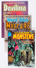 Magazines:Horror, Miscellaneous Magazines Horror Group of 8 (Various Publishers, 1960s-70s) Condition: Average VF.... (Total: 8 Comic Books)