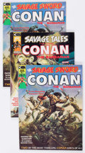 Magazines:Adventure, Savage Sword of Conan/Savage Tales Group of 17 (Marvel, 1970s) Condition: Average VF.... (Total: 17 Comic Books)