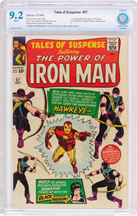 Tales of Suspense #57 (Marvel, 1964) CBCS NM- 9.2 White pages