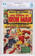 Silver Age (1956-1969):Superhero, Tales of Suspense #58 (Marvel, 1964) CBCS NM 9.4 White pages....