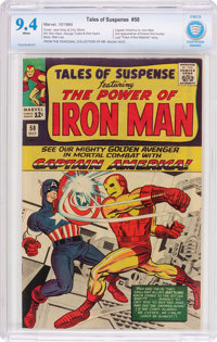 Tales of Suspense #58 (Marvel, 1964) CBCS NM 9.4 White pages