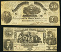 Confederate Notes:Group Lots, CSA - Lot of 2 September 2, 1861 Genuine Type Notes.. ... (Total: 2notes)